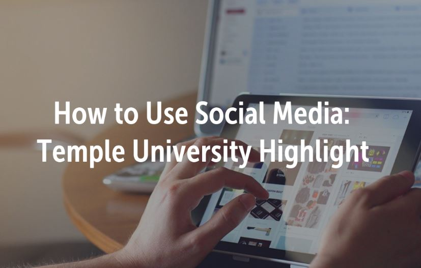 How to use social media highlight temple